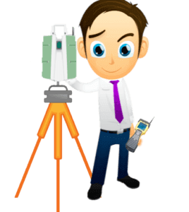 Geospatial Career Advice - Canadian Surveyor with LIDAR unit on a tripod