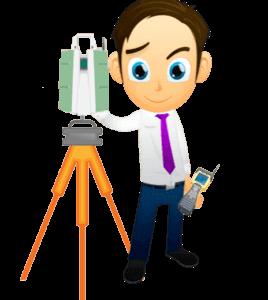 Geospatial Career Advice - Canadian Surveyor with LIDAR unit on a tripod